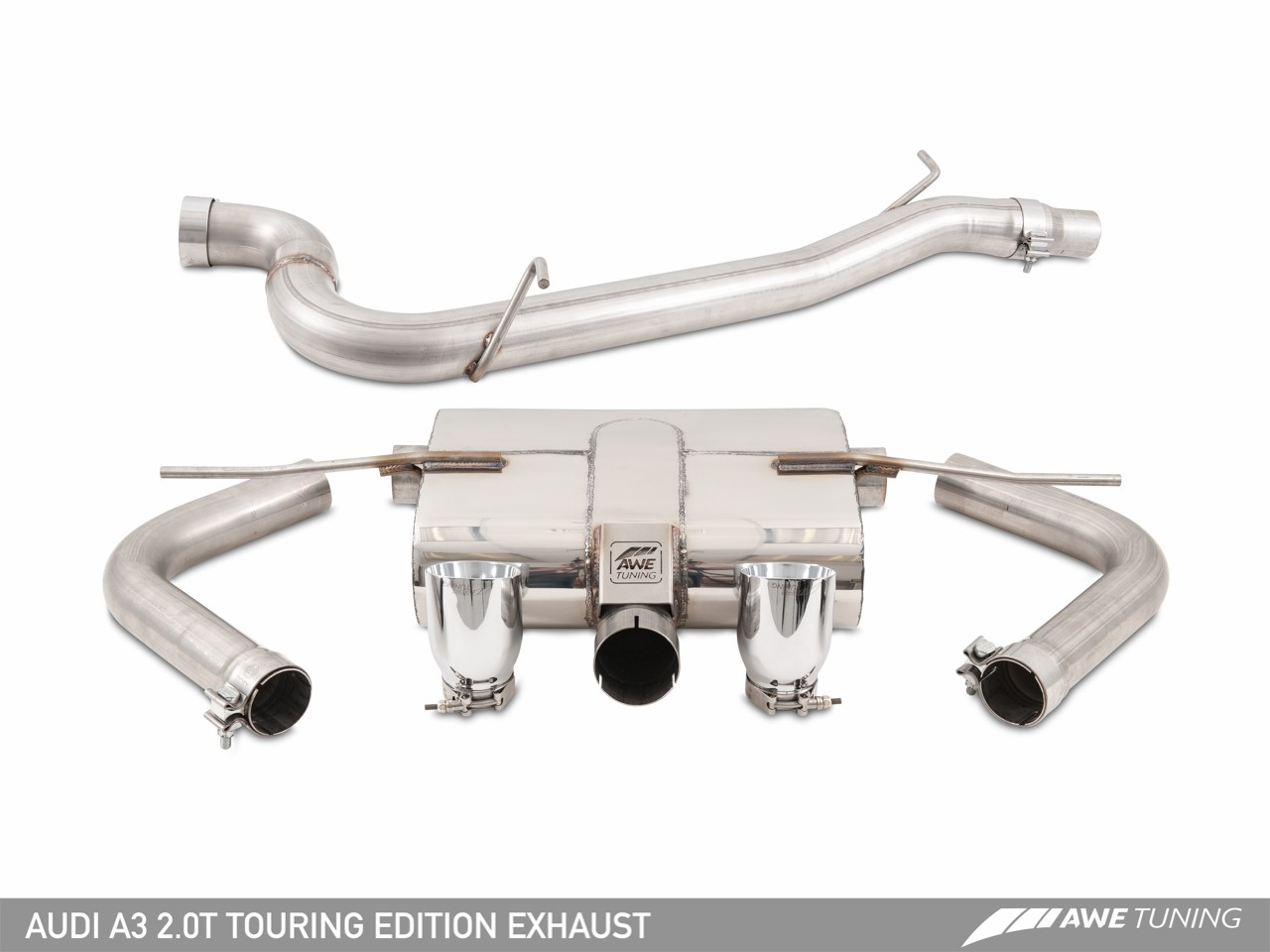 Awe Tuning Audi A3 20t Sedan Exhaust System 2 0t Engine Diagram Fitment 2015 Quattro