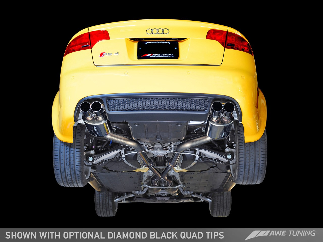Awe Tuning Audi Rs4 Performance Exhausts And Downpipes