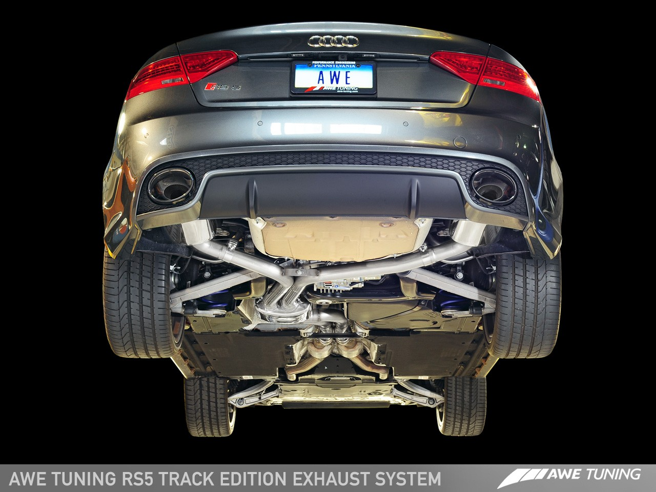Audi Rs5 Exhaust Awe Tuning