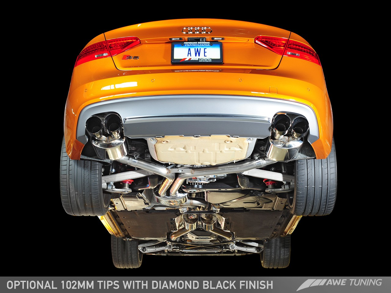 Awe Tuning Audi S5 3 0t Touring Edition Exhaust And