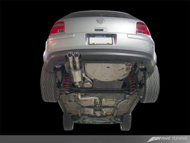 AWE Tuning Mk4 Performance Exhaust System  AWE Tuning