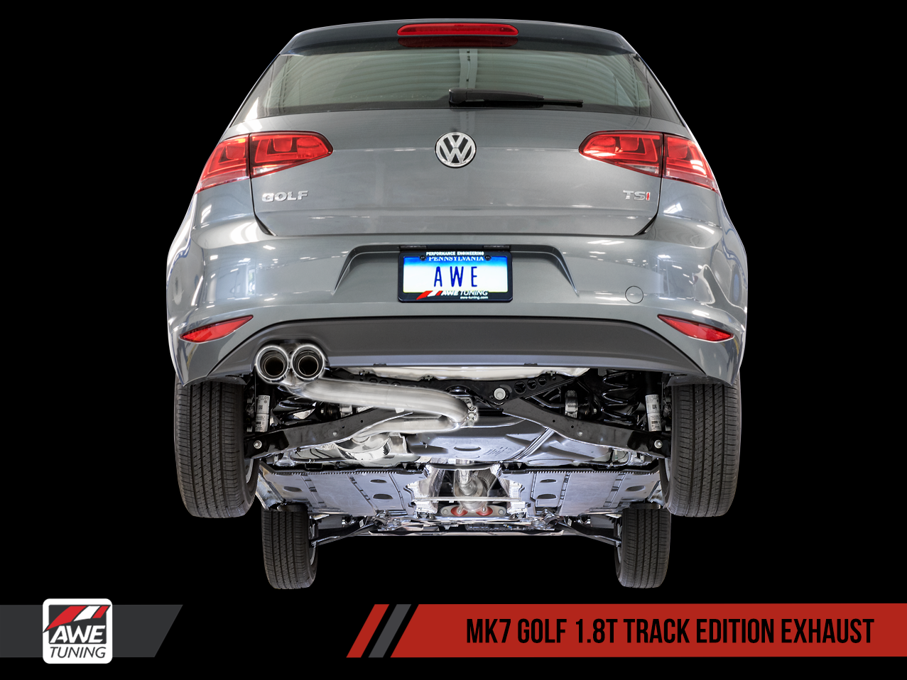 Introducing The Awe Tuning Vw Mk7 Golf 1 8t Exhaust Suite Now Available Vw Vortex Volkswagen Forum