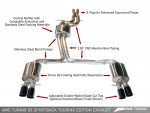 AWE Tuning Audi S5 3.0T Sportback Exhaust and Downpipe Systems