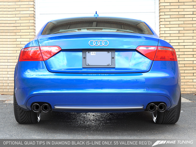 A W E Tuning A5 2 0t Exhaust Systems