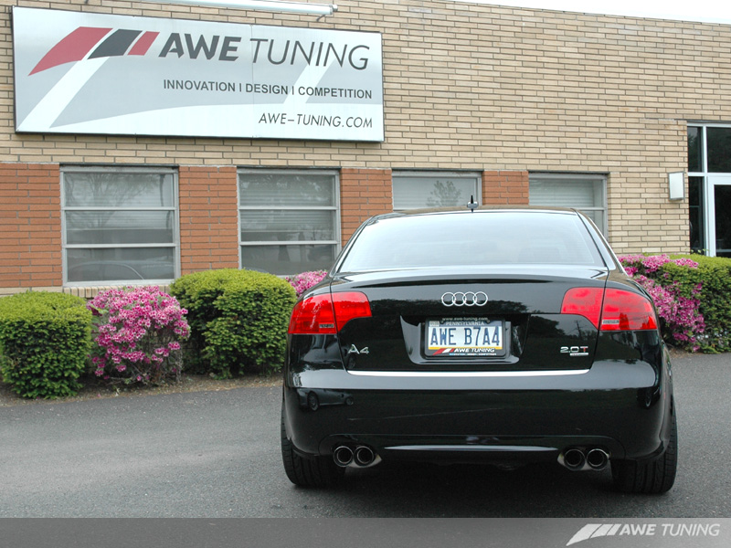 Awe Tuning B7 A4 Quad Tip Exhaust Is In Stock And Ready To Ship
