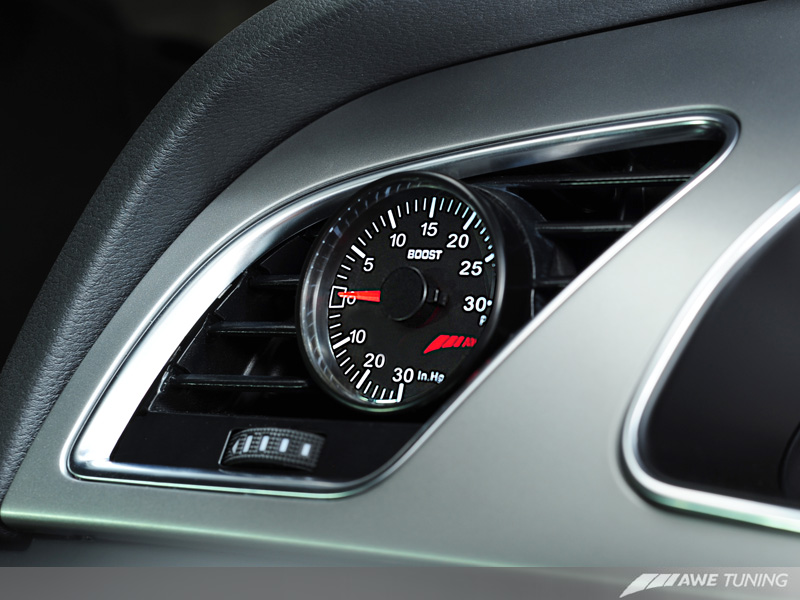 A W E Tuning B8 A4 Vent Boost Gauge Coming Soon