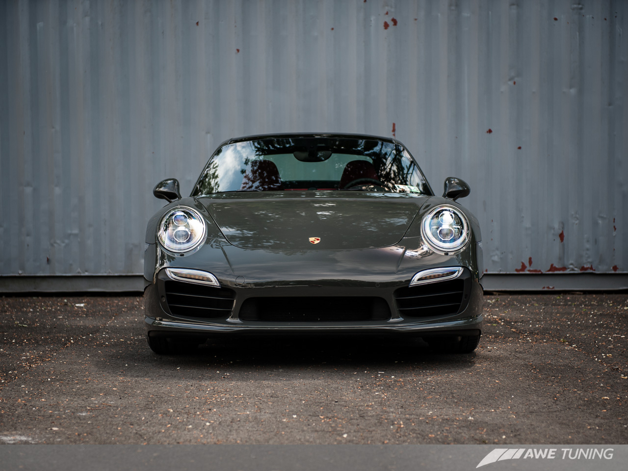 A special shade of gray  Meet the new AWE Tuning Porsche 991