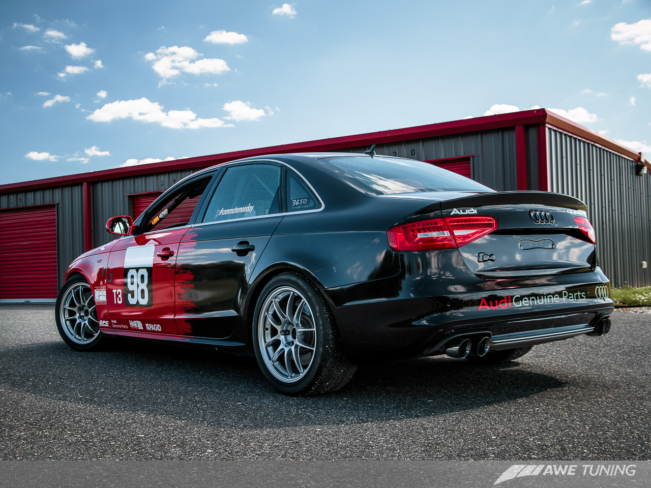Introducing the AWE Tuning S8 Track Edition Exhaust. For ... | audi s4 track car
