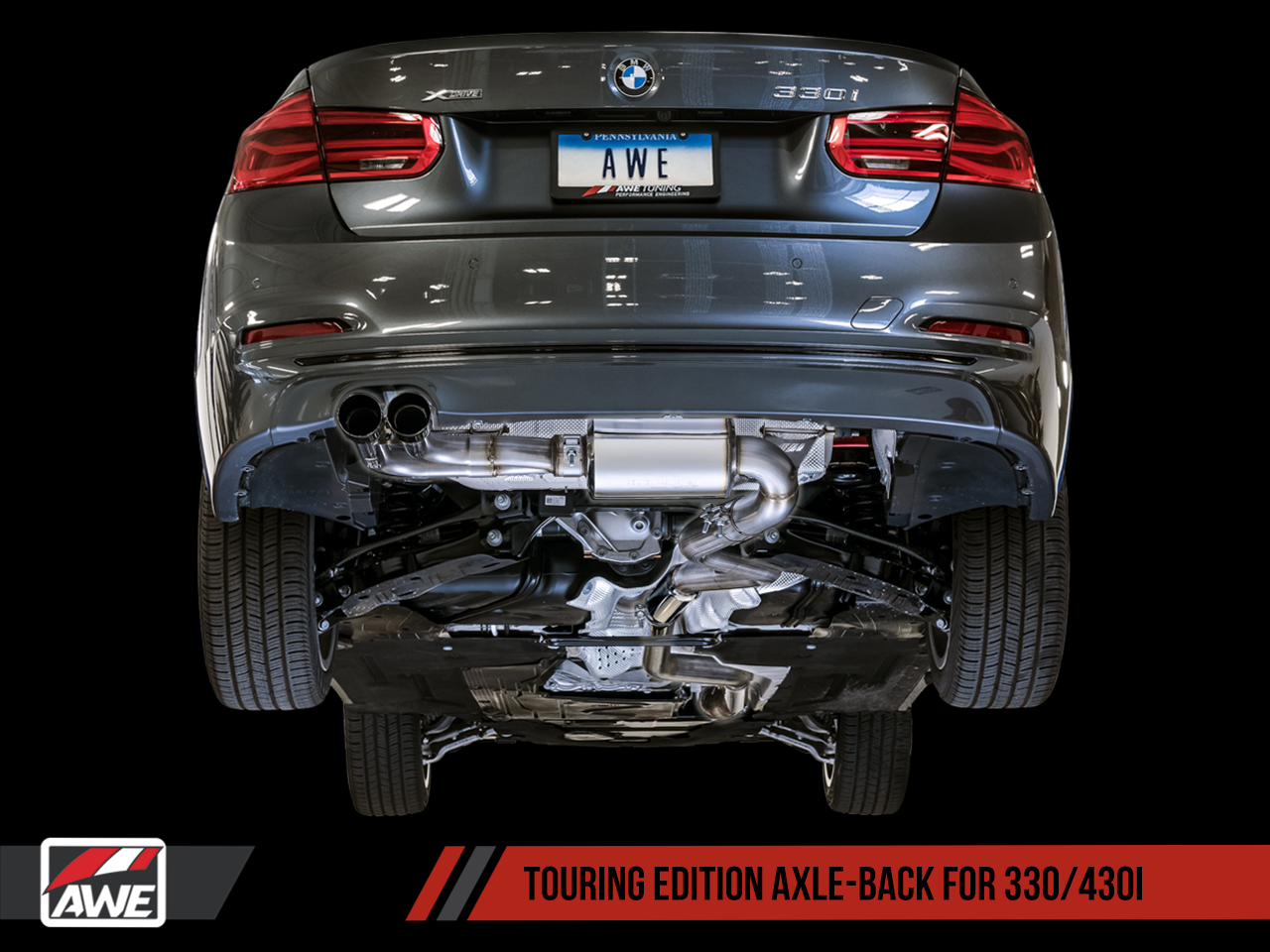 Awe Tuning Bmw F30 328i 330i Performance Exhaust Suite Awe