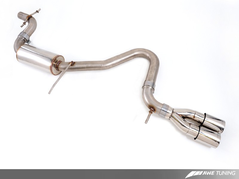 awe performance exhaust system for audi 8p a3 | awe tuning