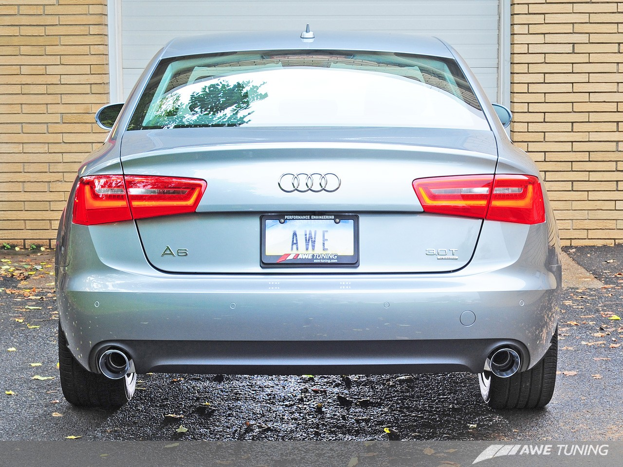 Awe Tuning Audi C7 A6 Touring Edition Exhaust Systems Awe