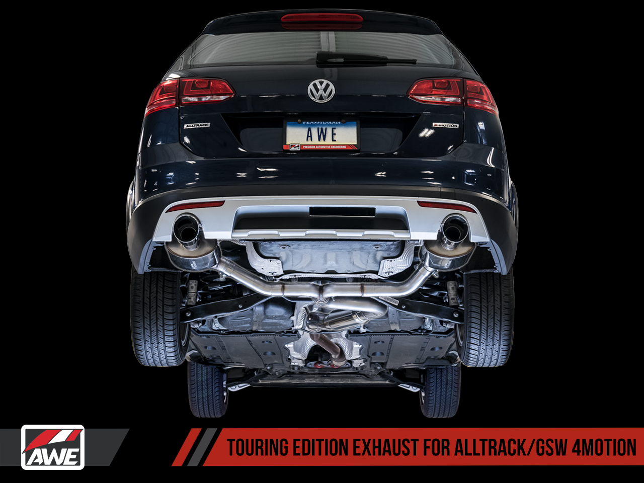 AWE Tuning VW Golf Alltrack 1 8T Exhaust Suite | AWE Tuning