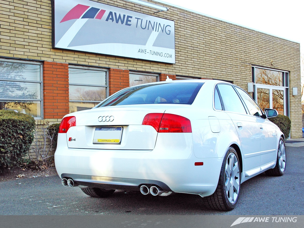 Awe Touring Track Edition Exhausts For Audi B7 S4 Awe Tuning