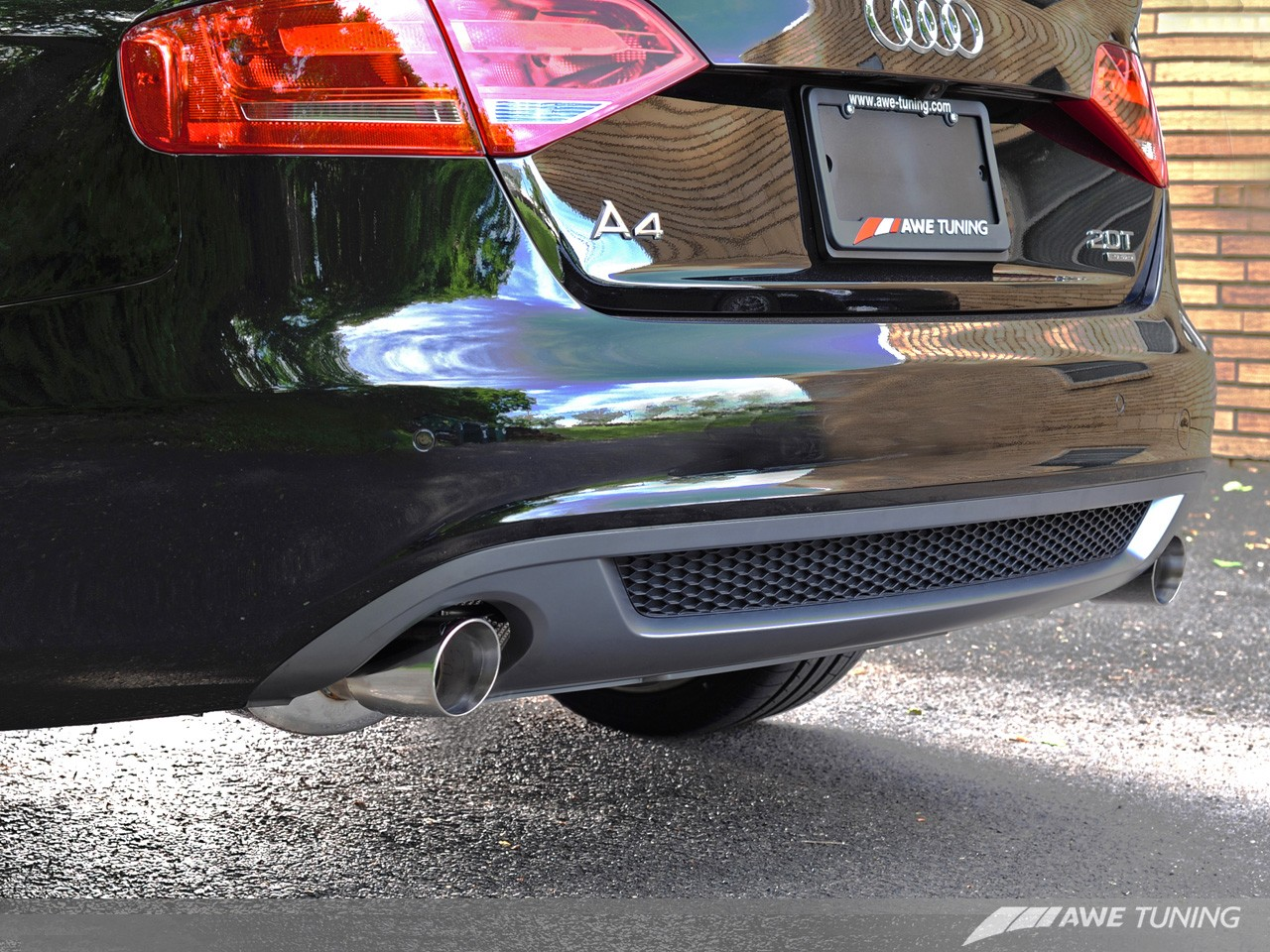 Awe Touring Edition Exhaust And Downpipe Systems For B8 A4 20t