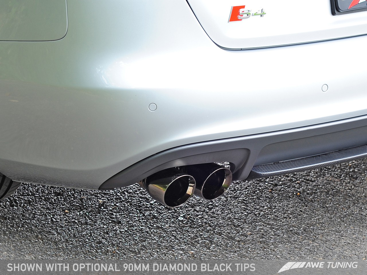 Awe Touring Edition Exhaust And Downpipe Systems For Audi B8 5 S4