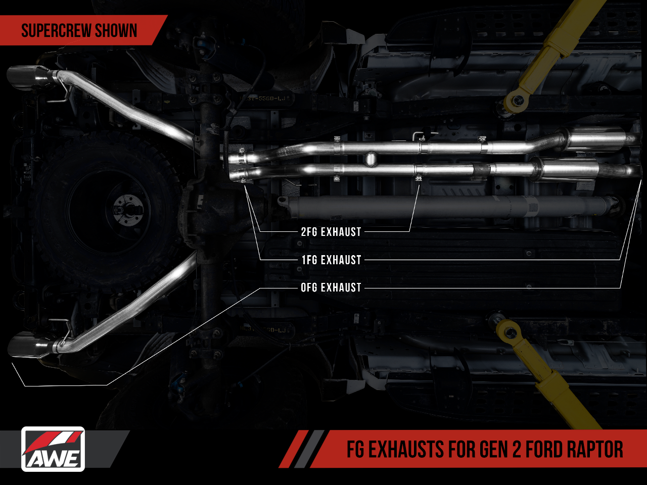AWE FG Exhaust Suite for the Gen 2 Ford Raptor | AWE Tuning