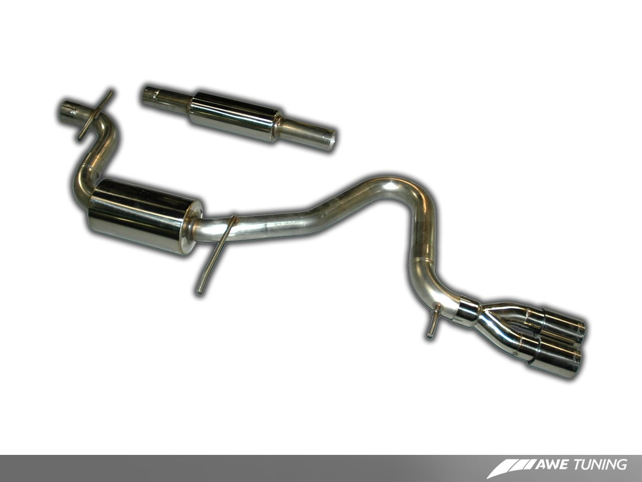 AWE Performance Exhaust for MK6 Golf 2 5 | AWE Tuning