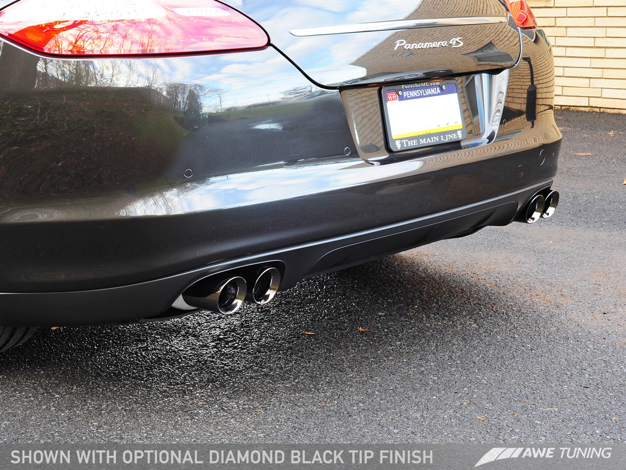 Awe Tuning Porsche Panamera S 4s Touring Edition Exhaust
