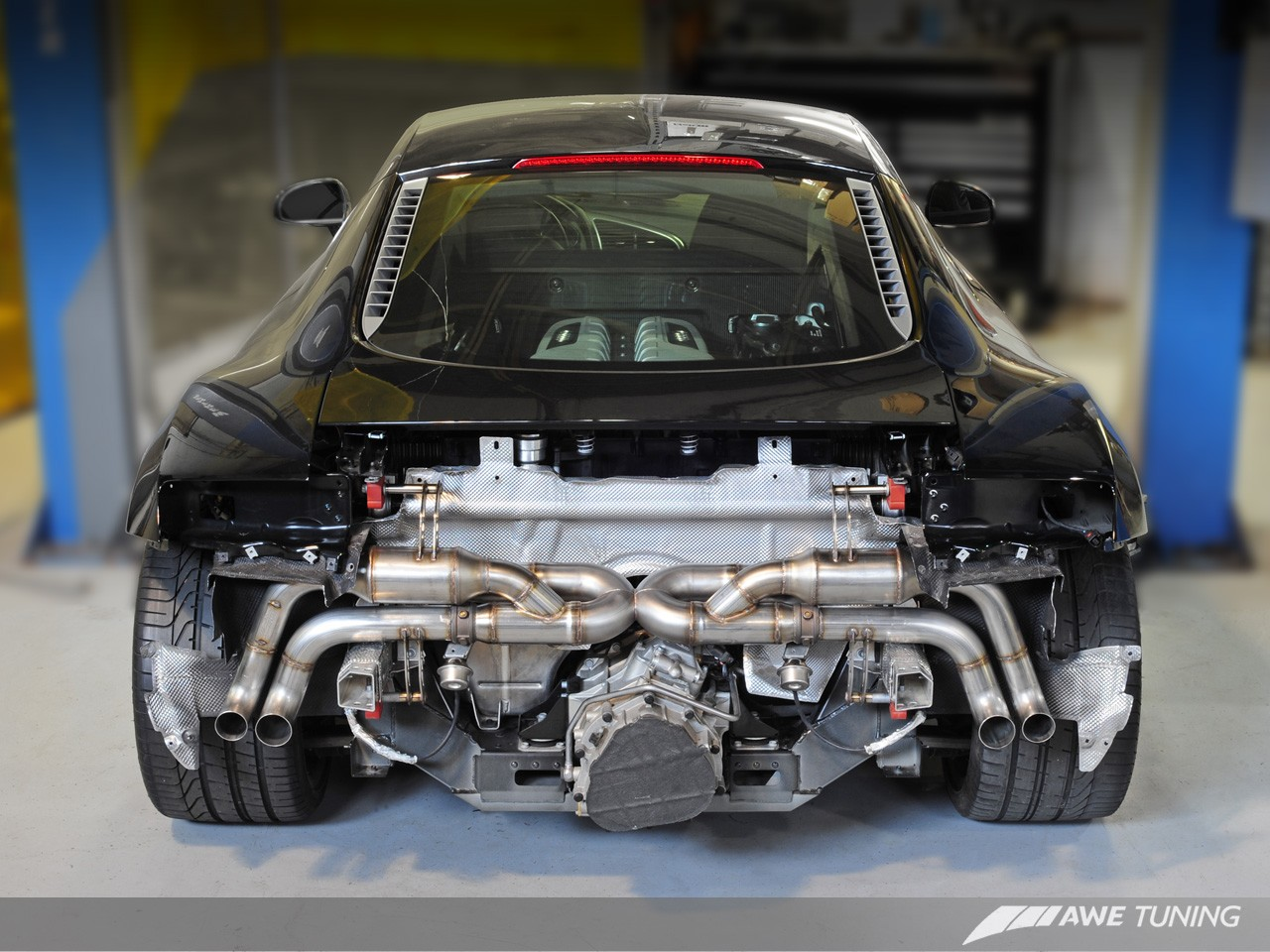 Awe Switchpath Exhaust System For Audi R8 52l Awe Tuning
