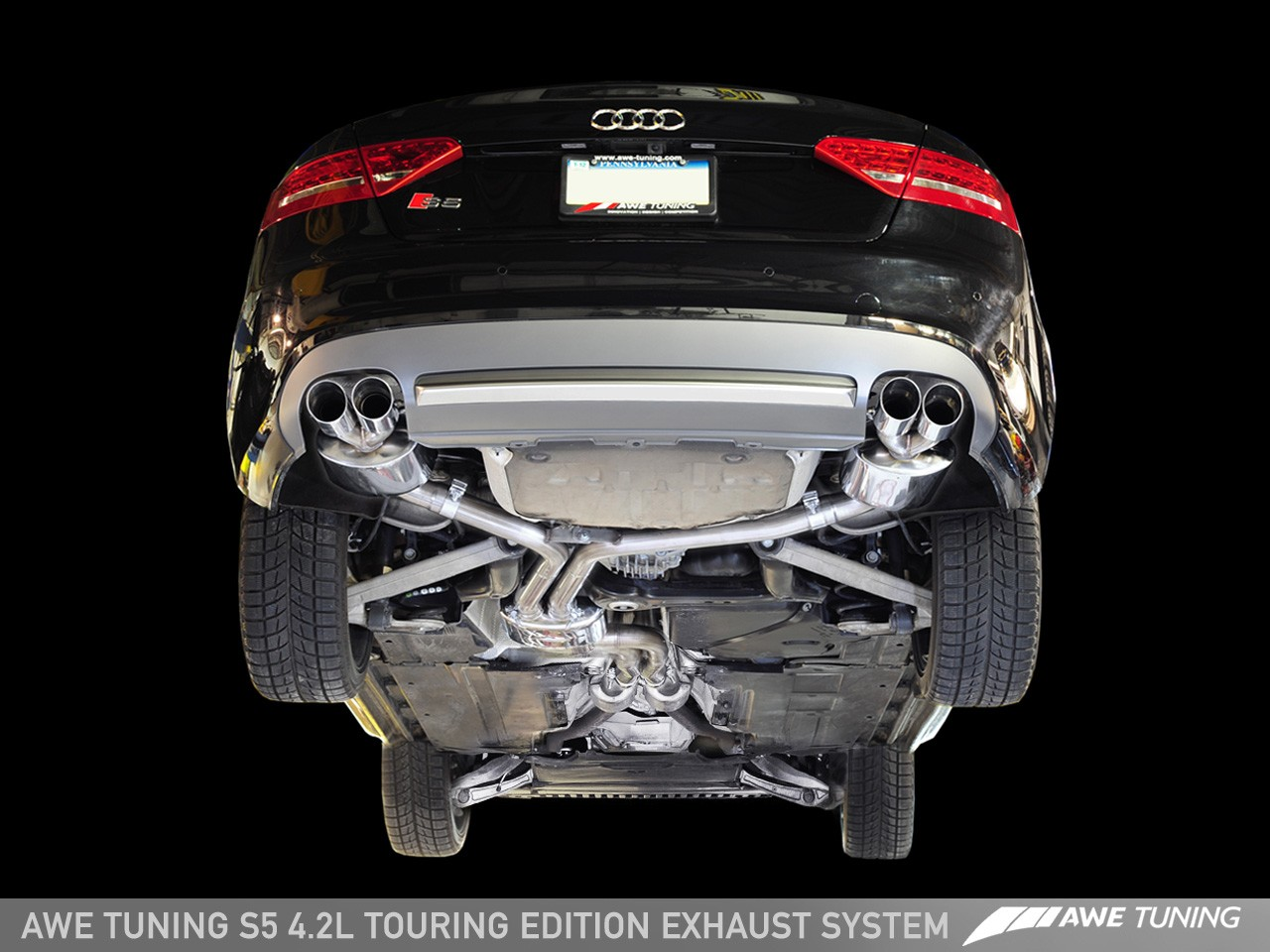 awe track and touring edition exhausts for audi s5 4 2l awe tuning rh awe tuning com Audi A3 Exhaust Diagram Audi A3 Milltek Exhaust
