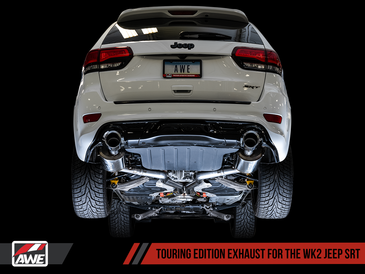 Awe Exhaust Suite For The Jeep Grand Cherokee Srt Awe