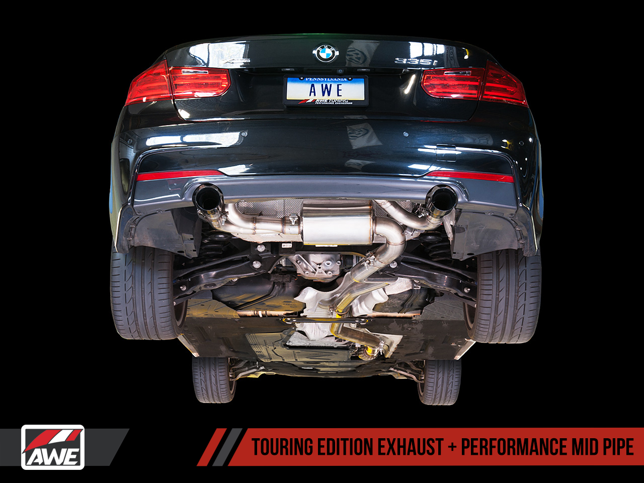 AWE Exhaust Suite for BMW F30 335i | AWE Tuning