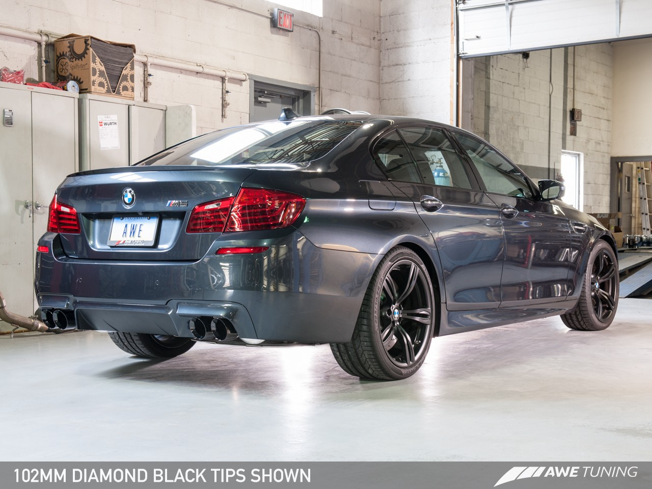 Awe Touring Edition Exhaust For Bmw F10 M5 Awe Tuning