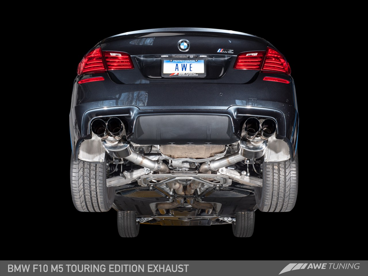 Awe Touring Edition Exhaust For Bmw F10 M5 Awe