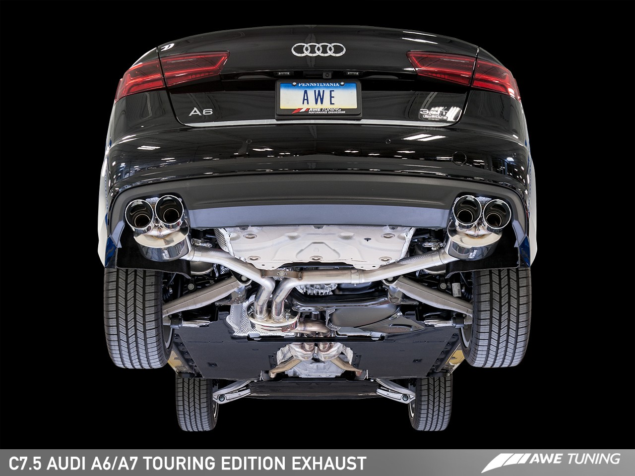 Awe Tuning Audi C7 5 A6 Touring Edition Exhaust Suite Awe