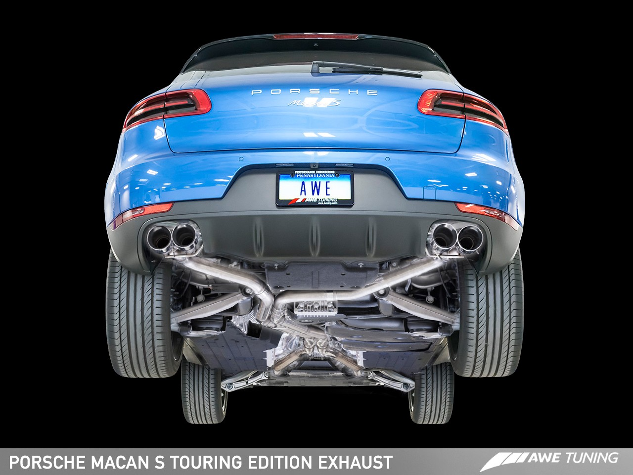 Awe Tuning Porsche Macan S Exhaust Suite Awe Tuning