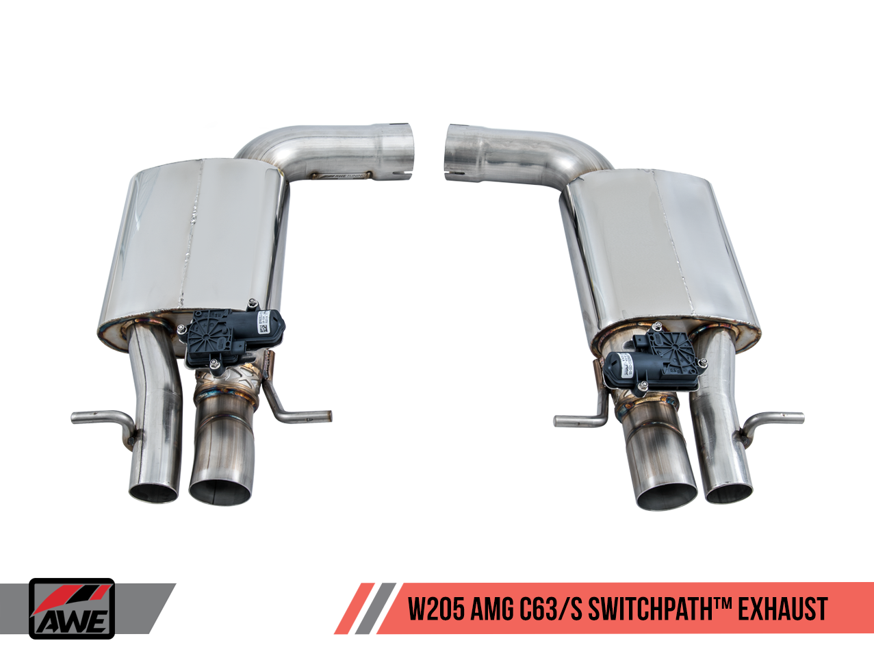 AWE Tuning Mercedes-Benz C63 Exhaust Suite for Coupe and