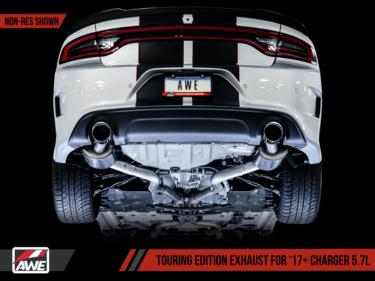 Awe Exhaust Suite For The 15 Dodge Charger R T 5 7 Awe