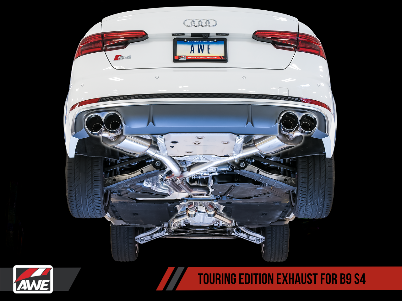 AWE Tuning Audi B9 S4 3 0T Exhaust Suite | AWE Tuning