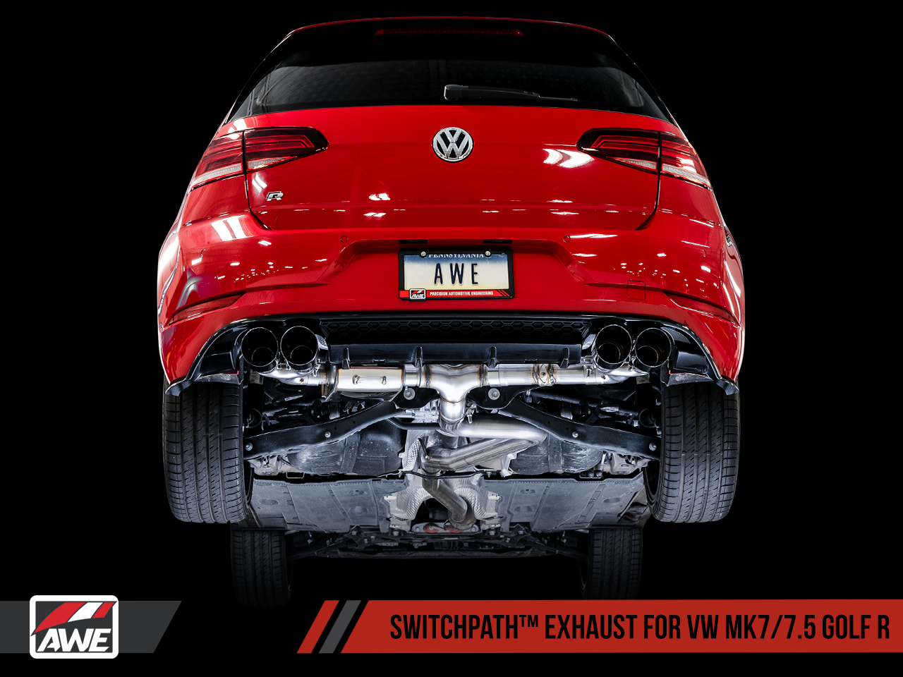 Awe Exhaust And Downpipe Suite For Mk7 Golf R Awe